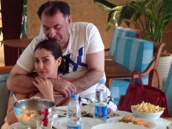صورة زوج غادة عبد الرازق , صور غادة عبد الرزاق مع زوجها