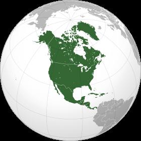 كم قارة في امريكا الشمالية