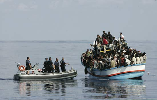 صورة نص مقالي حول الهجرة الخارجية