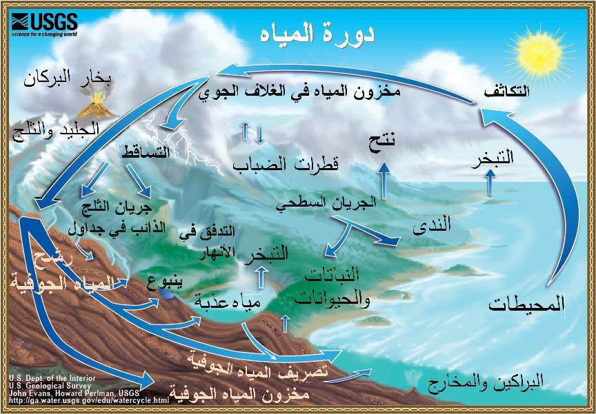 صور تعريف دورة الماء