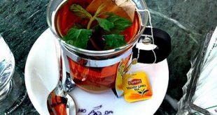 فوائد الشاي الاخضر بالنعناع