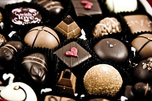 صور كيف تصنع صوص الشوكولاته