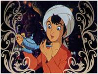 صور بحث حول علاء الدين والمصباح السحري بالفرنسية