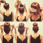 تسريحات شعر بسيطة , تسريحة سهلة للشعر
