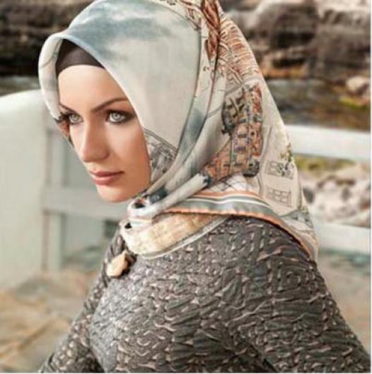 صورة حجاب تركى ، صور متنوعه لاشكال الحجاب التركى