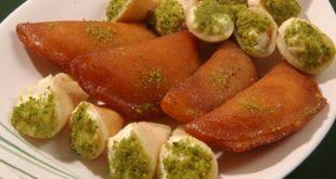صورة حلويات سورية , حلويات شامية
