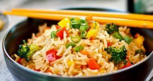 طريقة عمل الارز الصينى , من مطبخ منال العالم