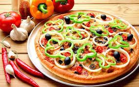 طريقة عمل بيتزا بالخضار , احلى الطرق لعمل البيتزا