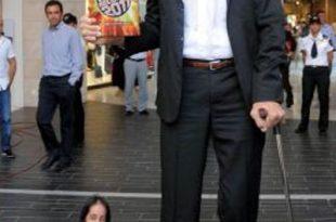 صور اطول رجال في العالم