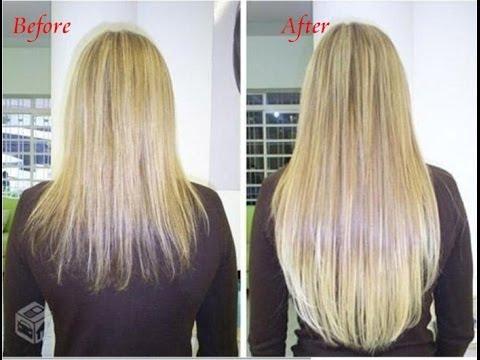 صورة وصفة لتطويل الشعر بسرعة
