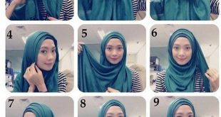 بالصور طرق وضع الحجاب