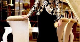 فساتين سهرة روعة , اشيك الفساتين للمناسبات 2019