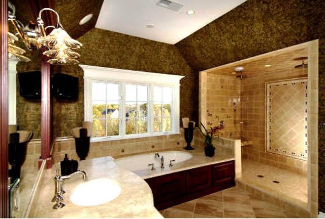 صور احدث ديكورات حمامات