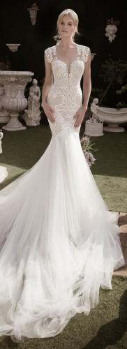 صورة فساتين زفاف سمكه , ملابس على شكل اسماك