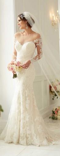 صور فساتين زفاف سمكه , ملابس على شكل اسماك