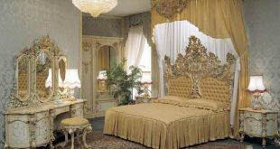 صور غرف نوم كلاسيكية