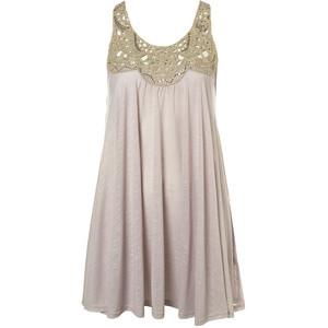 صورة فستان قصير شيفون