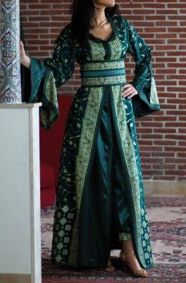 صورة فساتين جزائرية للعيد