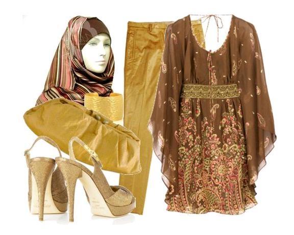 صور ملابس للمحجبات جنان , اناقة ازياء المحجبات 2019