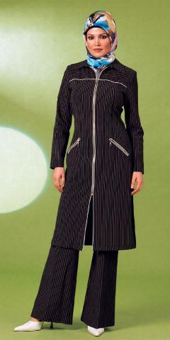 ازياء فخمة للمحجبات , ملابس محجبات بالوانات عصرية وشيك 2019
