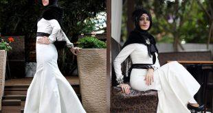 احلى ملابس حجاب اجمل فساتين المحجبات