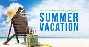 صورة انشاء عن العطلة الصيفية بالانجليزية
