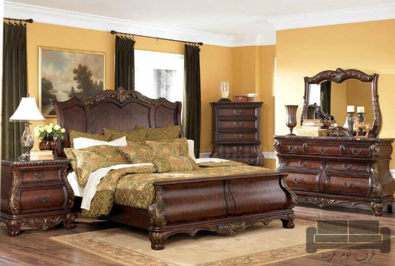 بالصور صور غرف نوم كلاسيك 244513 2