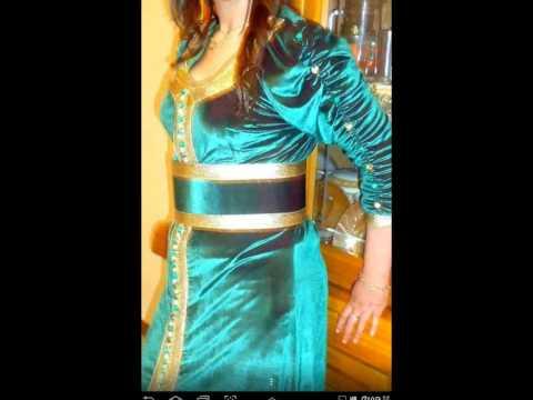 بالصور فساتين جزائرية شتوية للبيت , لباس بنات الجزائر للشتاء 244516 4