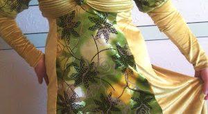 صورة فساتين جزائرية شتوية للبيت , لباس بنات الجزائر للشتاء