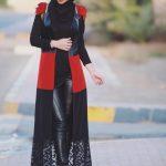ازياء محجبات للصبايا الانيقة , ملابس محجبات للصبايا الانيقة 2019