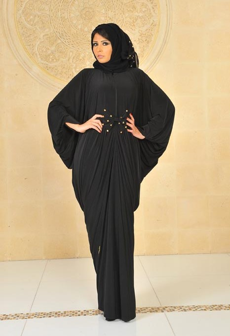 صورة عبايات دبي للخليجيات , اجدد عبايات دبي 2019