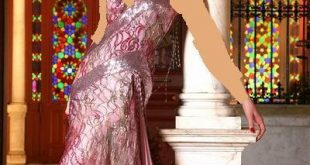 صورة فستان سهرة فوشي