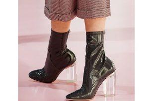 صور موديلات احذية باللون الاسود , احذية جديدة 2019