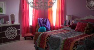 ديكورات غرف نوم ملونة