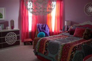 صور ديكورات غرف نوم ملونة