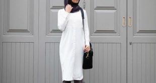 صورة ملابس محجبات روعة , اطقم مميزة 2019