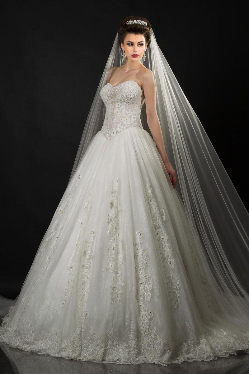 بالصور فساتين عروس روعه 245402 5