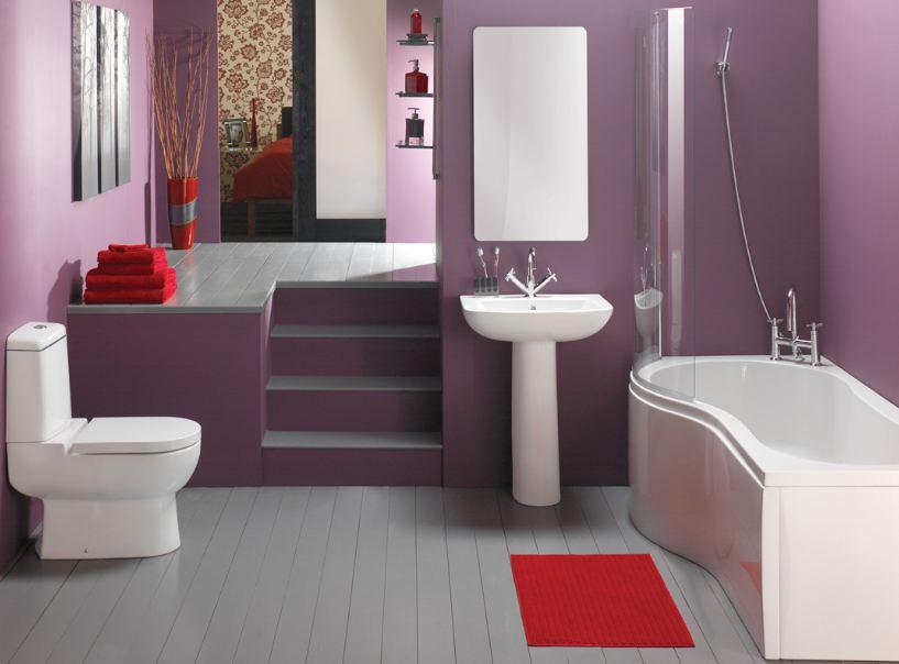 صوره ديكورات حمامات حديثة