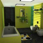 ديكورات حمامات حديثة