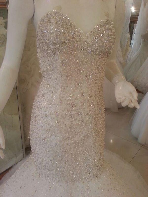 بالصور فساتين زفاف سوق اليمامة بجدة 245431 6