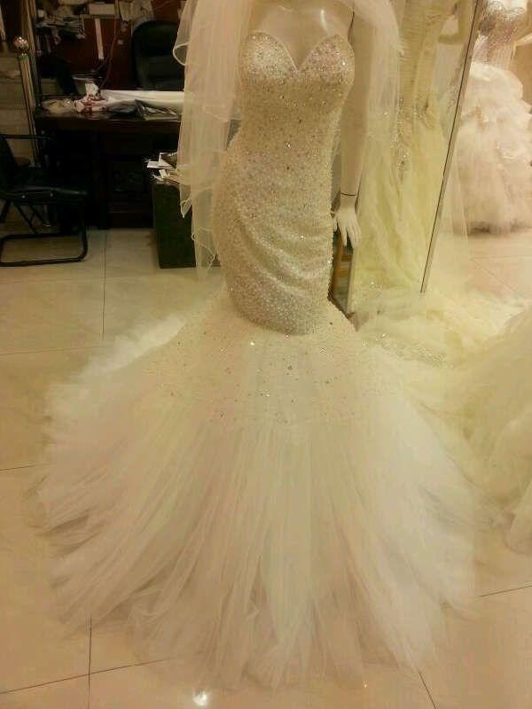 بالصور فساتين زفاف سوق اليمامة بجدة 245431 7