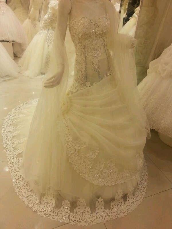 بالصور فساتين زفاف سوق اليمامة بجدة 245431 8