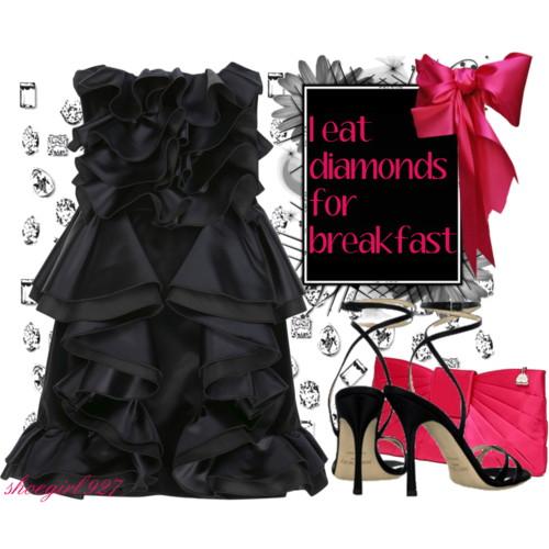 صوره اجمل الفساتين والاكسسوارات