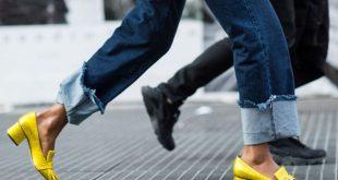 صور جينز الوان هايلة , اجدد جينز الوان روعة 2019
