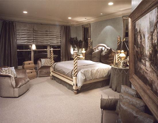 صوره احدث ديكورات لغرف النوم