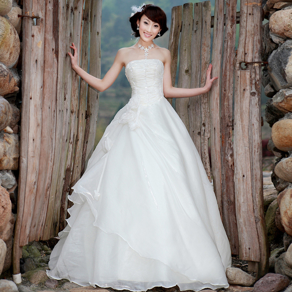 بالصور فساتين زواج كوريه 245527 5