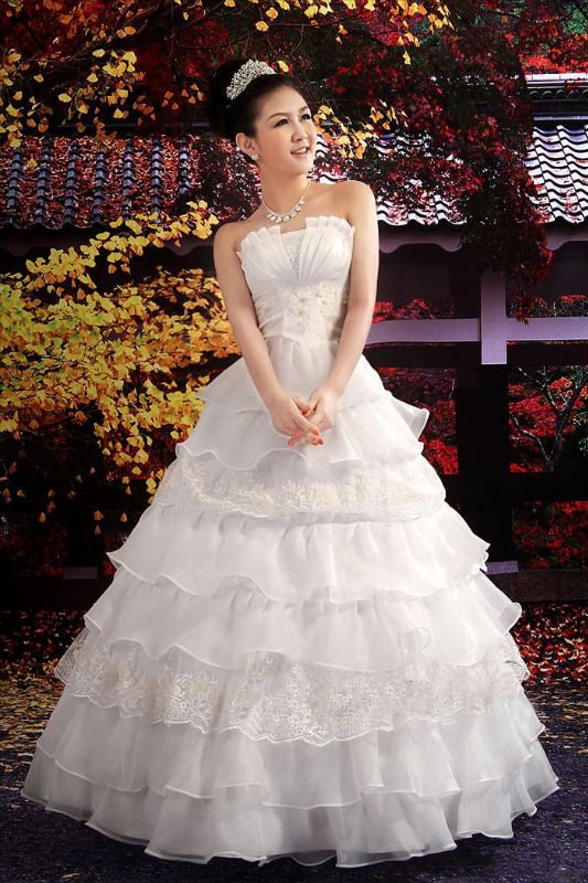 بالصور فساتين زواج كوريه 245527 7