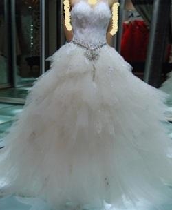 بالصور فساتين زفاف يمنية 245528 2
