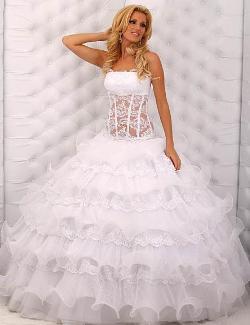 بالصور فساتين زفاف يمنية 245528 4