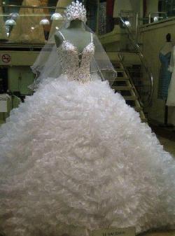 بالصور فساتين زفاف يمنية 245528 5